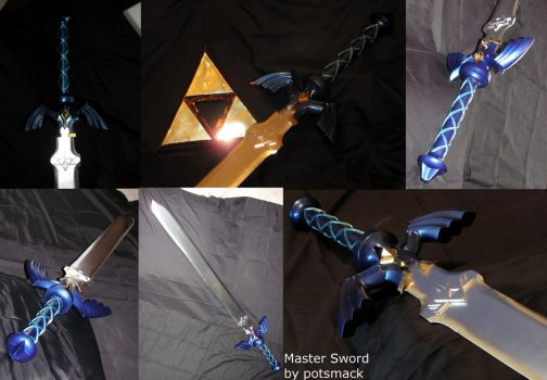 The Master Sword (Breath of the Wild) by potsmack
