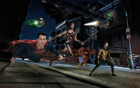 Justice League Unite by fmirza95