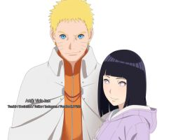 The Hokage and the first Lady by vicio-kun