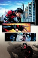 Superboy Color Test 2 by jadecks