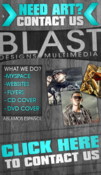 Promo para myspace  de el2009 by BlastDesign