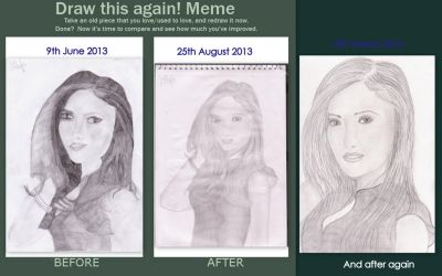 Before, after and after that meme (Nina Dobrev) by rocklovingwolf100