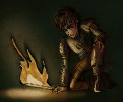 Scene from HTTYD2: Kidnapped and Dangerous by inhonoredglory