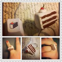 The Cake is a Lie, Portal Ring by Faye-Fox