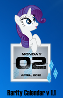 Rarity Calendar V1.1 by SNX11