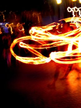 Dance with fire by Elile