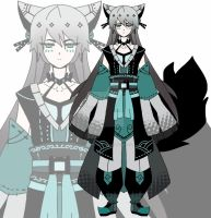 samurai kemonomimi adoptable CLOSED by AS-Adoptables