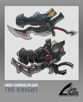 The Knight - Weapon Concept by darthrith