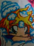 Chibi Covered in Clouds by RoxasKuroishi