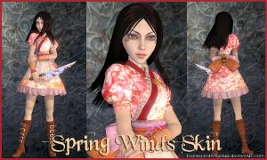 A:MR Skin - Spring Winds by EvanescentAngel666