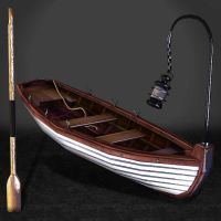 BioShock Infinite Boat and Oar by ArmachamCorp
