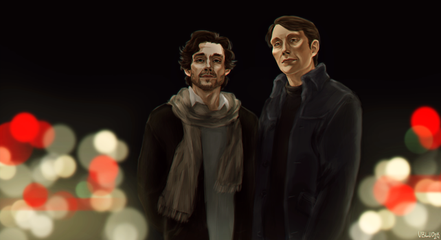 Hannibal and Will 2 by Ubludok24