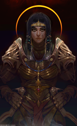 sehkmet concept human version by TheFearMaster