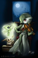 Gardevoir and her serenade by Luckyia