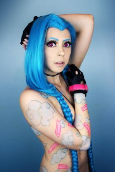 Sexy Jinx - Cosplay by AliCat-Cosplayer