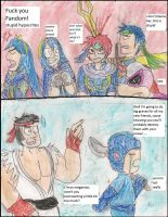 Roy and Ryu first reactions by kingofthedededes73