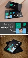 Metro Style Business Card 2 Template by SMHYLMZ