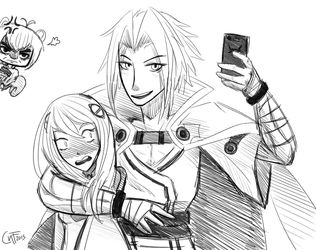 Lemme take a selfie... by CatNotFound