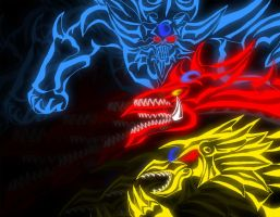 Wrath of the Egyptian Gods by ElectricLimeRose
