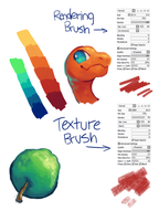 experimental brushes by Sushirolled