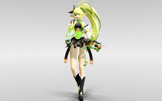 [MMD-Elsword] Rena Anemos DOWNLOAD! by Darknessmagician