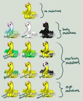 Ferrotiel Mutation Chart by MCAdoptables
