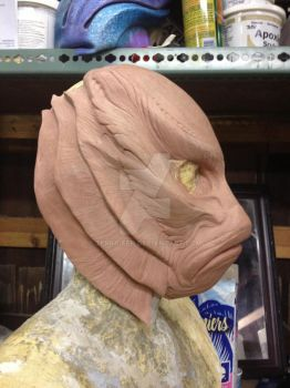 WIP Creature from the Black Lagoon by Terra-fen