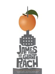 James and the Giant Peach by uncertain-certainty