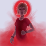 7 Days Color Challenge - Red: Wrath by evinca