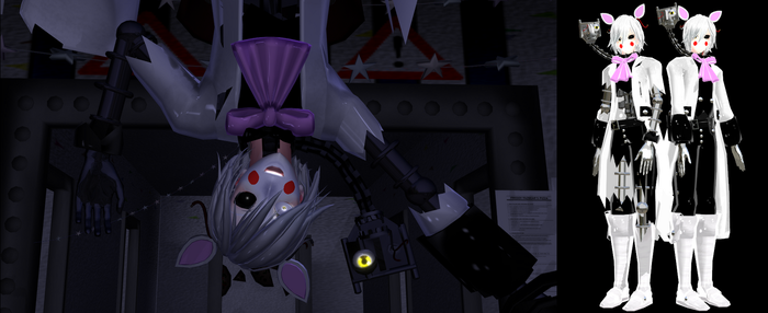 [MMD] The Male Mangle Model DL by ZexionStrife