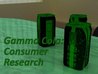 Gamma Cola: Consumer Research by AdiabaticCombustion
