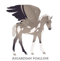 Asgardianfoal Design by Lucy101