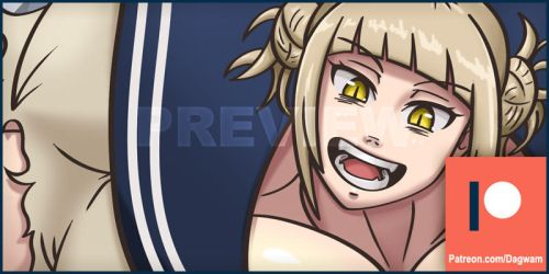 Patreon Preview: Plus Ultra Toga by Dagwam