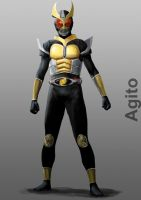 Kamen Rider Agito by doneplay