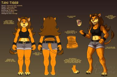 Reference - Tani Tiger by Lurking-Leanne