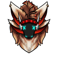Headshot YCH protogens only OPEN by cross-the-swirl