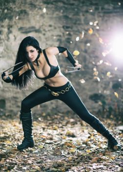 X-23 is in Logan!!! by AmbraAura
