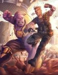 Thanos Vs. Cable