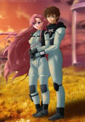 Commission: Euphemia x Suzaku by Amenoosa
