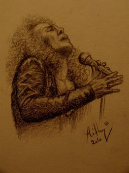Ronnie James Dio by Mithy91