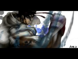 Street Fighter's Ryu by kw3k