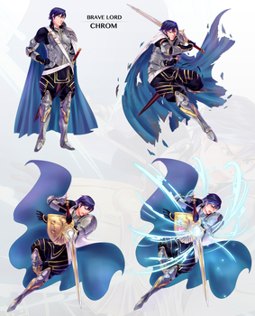 [Brave Lord] Chrom by applePAI