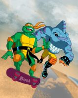 Mikey and Streex by MikeBock