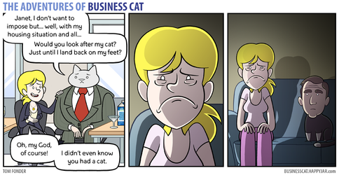 The Adventures of Business Cat - Pet by tomfonder