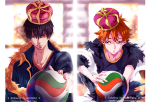 The King and The Prince   Collab by AJM-FairyTail