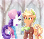 Winter time by JumbleHorse
