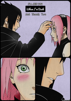 Sasuke And Sakura by Hogekys