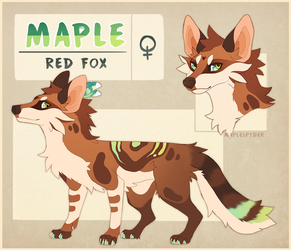 Maple Reference - 2018 by MapleSpyder