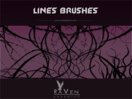 RG Lines Brushes by RavenGraphics