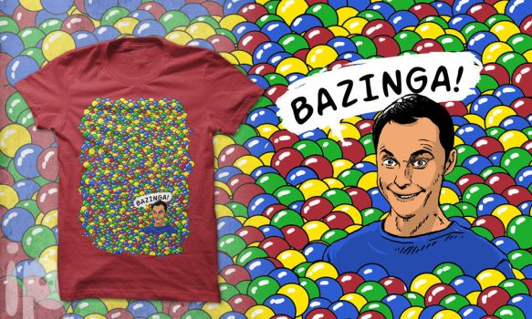Bazinga by inmaxpictures